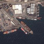 Busy harbour on Izmit Bay (Google Maps)