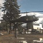Helicopter at Vietnam Era Veterans' Memorial (StreetView)