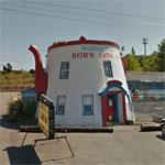 Coffee Pot-shaped Building