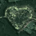 Heart shaped pond (Google Maps)