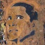 Barack Obama (Google Maps)