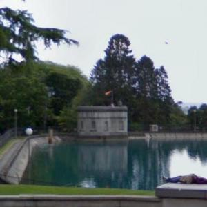Volunteer Park reservoir (StreetView)