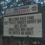 Wall Township Speedway sign (StreetView)