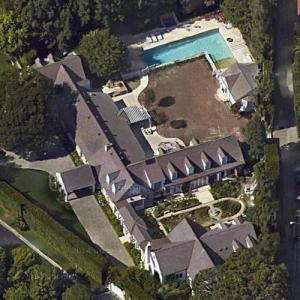 Leslie Moonves and Julie Chen's house (Google Maps)