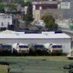 Army motor pool (StreetView)