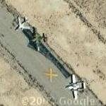 Old aircraft (Google Maps)