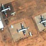 Three fire bombers at Ryan Field