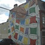 """Fabric of the Community"" by Jackie Kresak (StreetView)"
