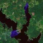 Fires on Lake Sam Rayburn