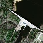 Greer's Ferry Dam (Google Maps)