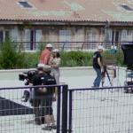 Filming in Marseille