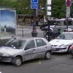 Car crash (Google Maps)