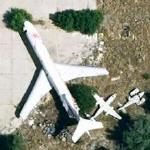 Boeing 727-256 - Beagle B206 - Turbo Commander 690 (abandoned) (Google Maps)