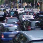 Traffic jam (StreetView)