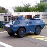 Armoured vehicle Berliet VXB-170 (StreetView)