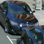 BMW M5 and Mercedes Benz AMG (StreetView)