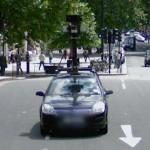 GoogleCar in London