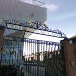 The gate of Anfield road