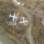 Abandoned old planes at La Paz - Jfk International (El Alto) Airport