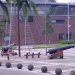 Ceremonial cannons (StreetView)