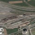 Railyard in Ljubljana (Google Maps)