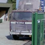 Vintage Scania truck.