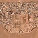 Unfinished development in Kuwait (Google Maps)
