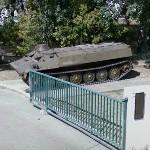 Armored personnel carrier MT-LB (StreetView)