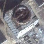 Nuclear power plant abandoned before completion (Google Maps)