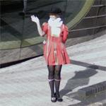 Female beefeater (StreetView)