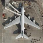 "Airbus A380 ""Superjumbo"" (Google Maps)"