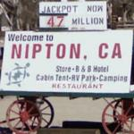'Welcome to Nipton, CA'
