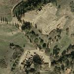 Ancient Roman town of Miróbriga (Google Maps)