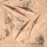 Saudi air defense missile site (Google Maps)