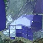 Salt Evaporation Ponds Zulia (VE) (Google Maps)