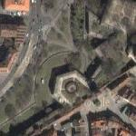 Nuremberg city walls (Google Maps)
