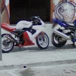 Two Yamahas
