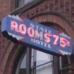 Rooms 75 cents - State Hotel