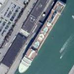 Cruise ship (Google Maps)