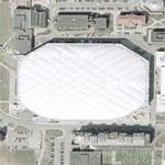 Syracuse University Carrier Dome (Google Maps)