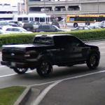 Black Ford Pickup
