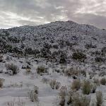 Snowy California