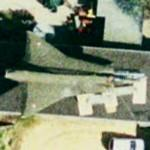 F-35 Draken on rooftop (Google Maps)