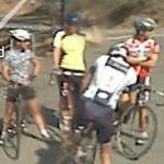 Bicyclists on Mount Diablo