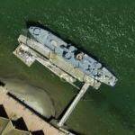 WWII USS LCI (Landing Craft Infantry) 713