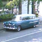 1955 Chevrolet 210 Two Door Station Wagon (StreetView)