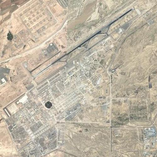 Kandahar Air Base in Kandahar Afghanistan Google Maps