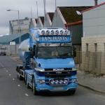 Ian Hayes Haulage Truck