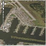 Floatplanes in Anchorage (Google Maps)