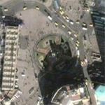 Taksim Square & Republic Monument (Google Maps)